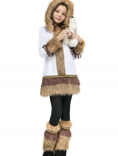 Girls Eskimo Costume, halloween costume (Girls Eskimo Costume)