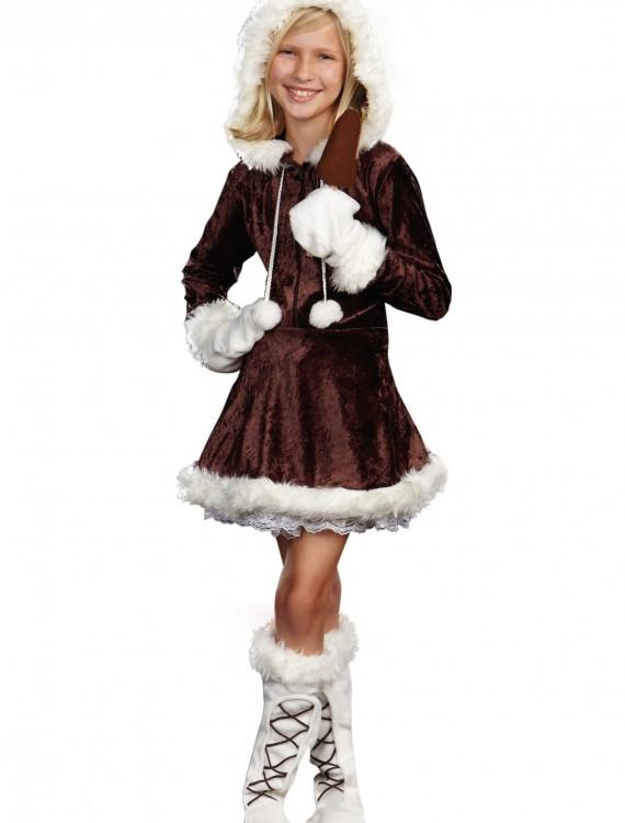 Girls Eskimo Cutie Costume, halloween costume (Girls Eskimo Cutie Costume)