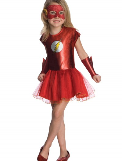 Girls Flash Tutu Costume, halloween costume (Girls Flash Tutu Costume)