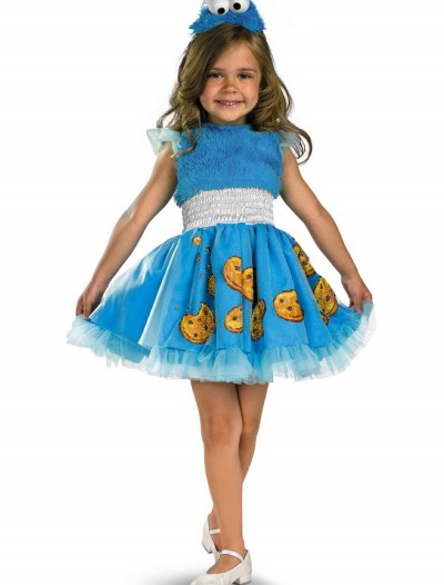 Girls Frilly Cookie Monster Costume, halloween costume (Girls Frilly Cookie Monster Costume)