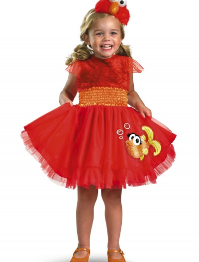 Girls Frilly Elmo Costume, halloween costume (Girls Frilly Elmo Costume)