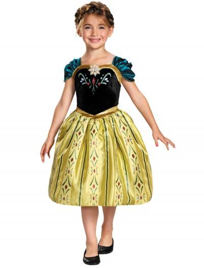 Girls Frozen Classic Anna Coronation Dress, halloween costume (Girls Frozen Classic Anna Coronation Dress)