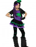 Girls Funky Frankie Costume, halloween costume (Girls Funky Frankie Costume)