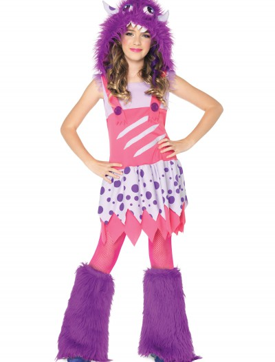 Girls Furball Monster Costume, halloween costume (Girls Furball Monster Costume)