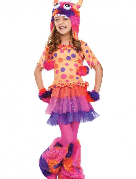Girls Fuzzy Fifi Monster Costume, halloween costume (Girls Fuzzy Fifi Monster Costume)