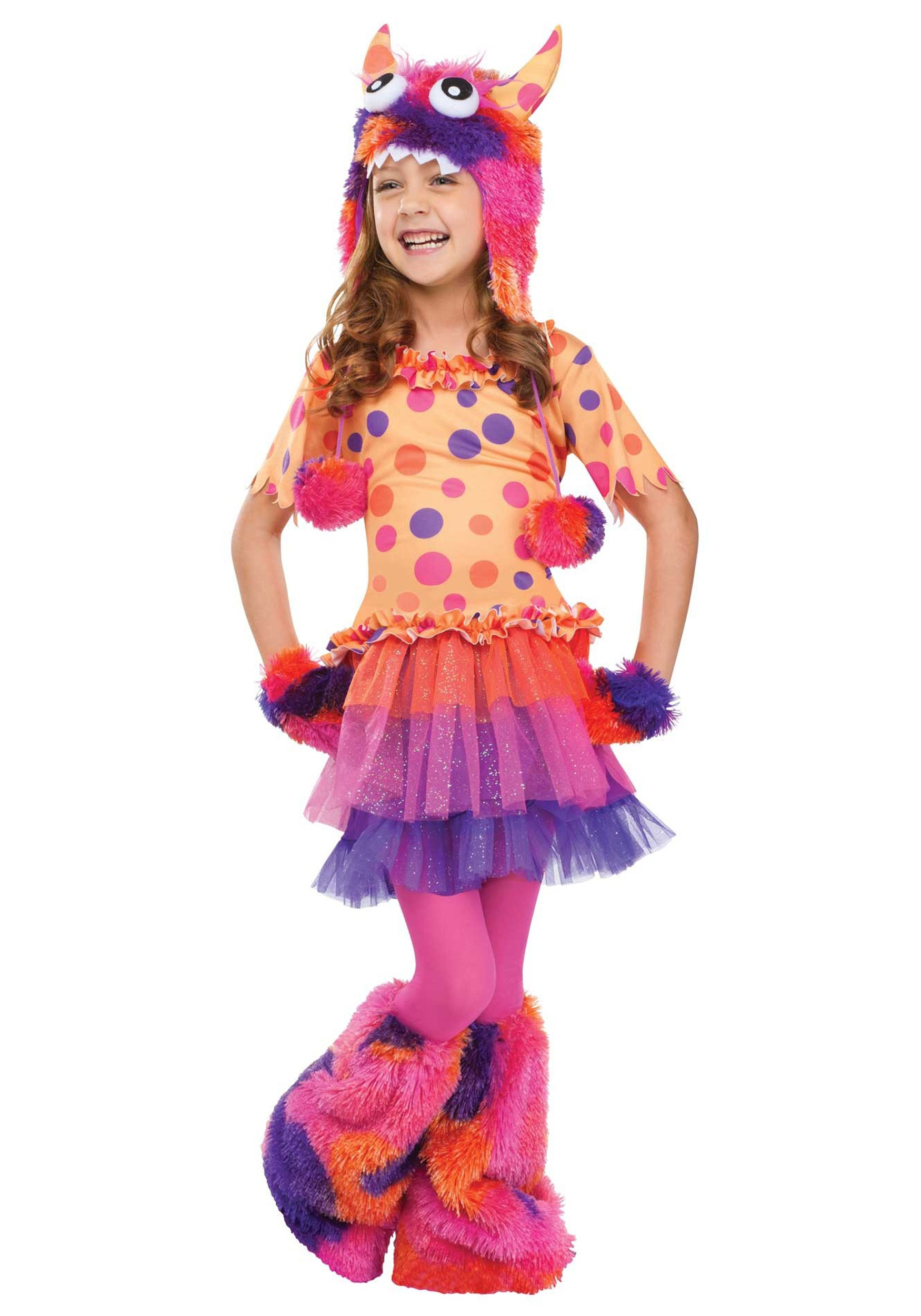Girls Fuzzy Fifi Monster Costume  sc 1 st  Halloween Costumes & Girls Fuzzy Fifi Monster Costume - Halloween Costumes