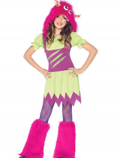 Girls Fuzzy Wuzzy Monster Costume, halloween costume (Girls Fuzzy Wuzzy Monster Costume)