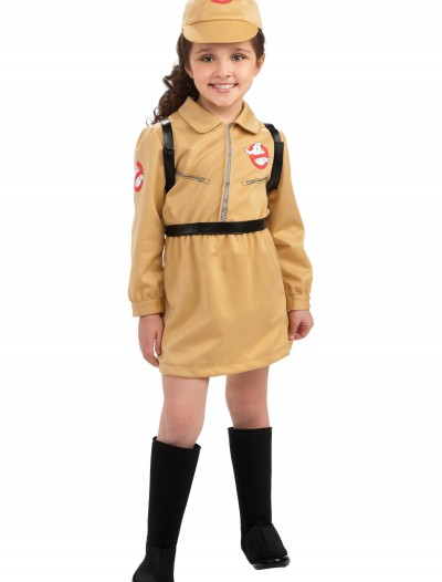 Girls Ghostbuster Costume, halloween costume (Girls Ghostbuster Costume)
