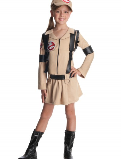 Girls Ghostbusters Costume, halloween costume (Girls Ghostbusters Costume)