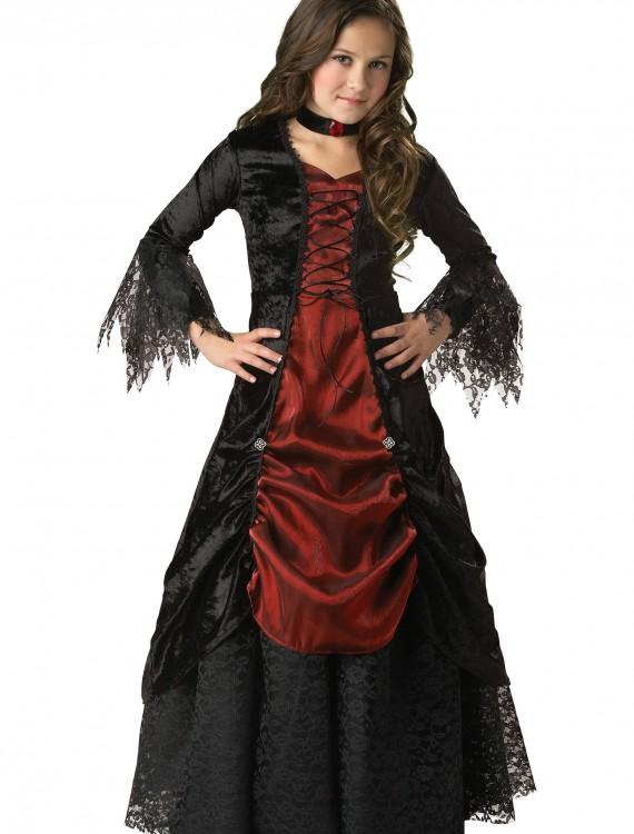 Girls Gothic Vampira Costume, halloween costume (Girls Gothic Vampira Costume)