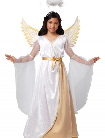 Girls Guardian Angel Costume, halloween costume (Girls Guardian Angel Costume)