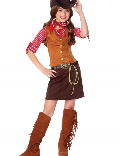 Girls Gun Slinger Costume, halloween costume (Girls Gun Slinger Costume)