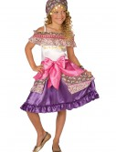 Girls Gypsy Costume, halloween costume (Girls Gypsy Costume)