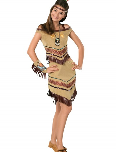Girls Indian Teen Costume, halloween costume (Girls Indian Teen Costume)