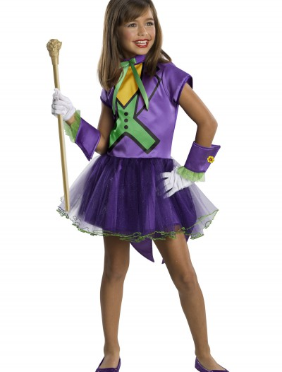 Girls Joker Tutu Costume, halloween costume (Girls Joker Tutu Costume)