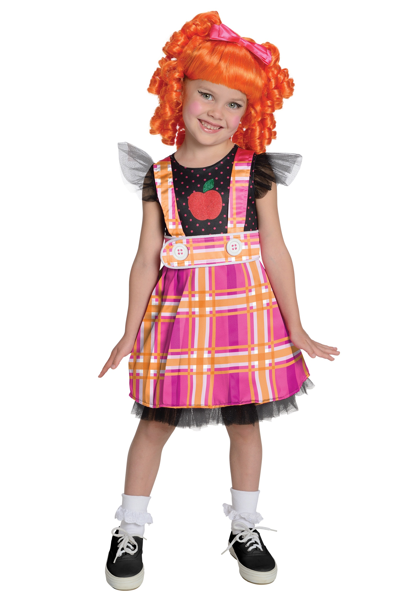 girls lalaloopsy bea spells a lot costume