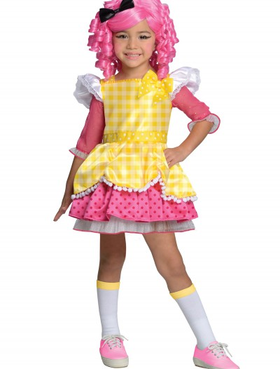 Girls Lalaloopsy Crumbs Sugar Cookie Costume, halloween costume (Girls Lalaloopsy Crumbs Sugar Cookie Costume)