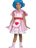 Girls Lalaloopsy Deluxe Rosy Bumps N' Bruises Costume, halloween costume (Girls Lalaloopsy Deluxe Rosy Bumps N' Bruises Costume)