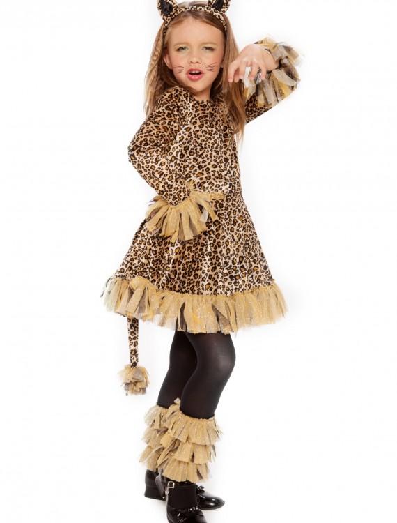Girls Leopard Costume, halloween costume (Girls Leopard Costume)
