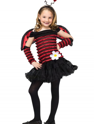 Girls Little Lady Bug Costume, halloween costume (Girls Little Lady Bug Costume)