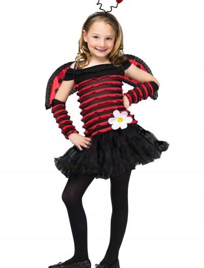 Girls Little Lady Bug Costume, halloween costume (Girls Little Lady Bug Costume)