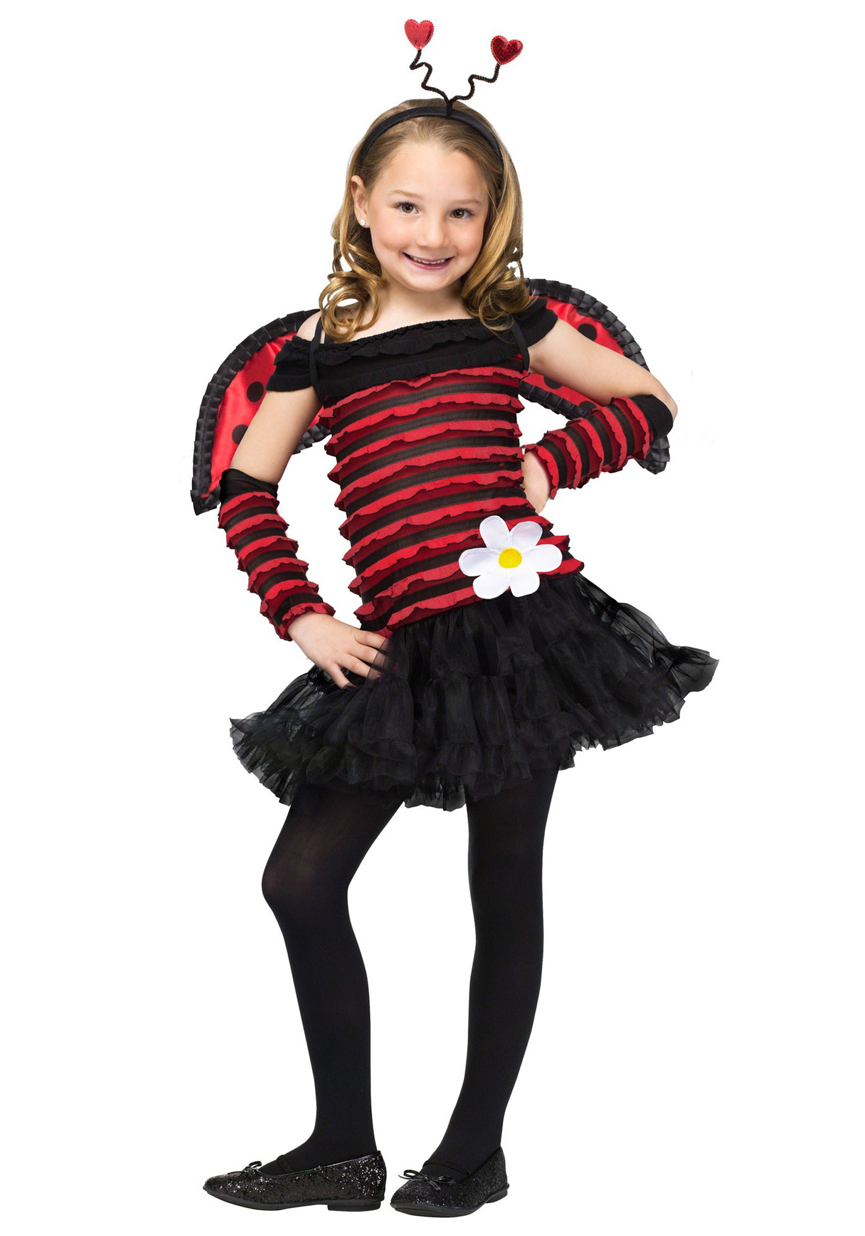 girls little lady bug costume