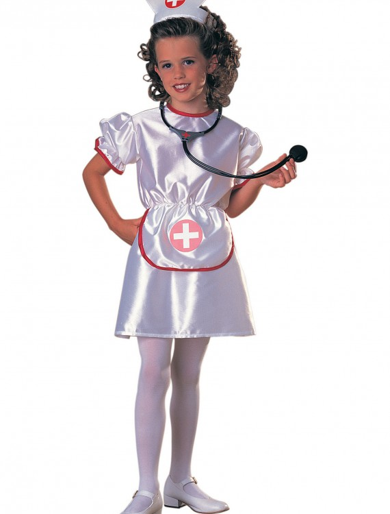 Girls Little Miss Nurse Costume, halloween costume (Girls Little Miss Nurse Costume)