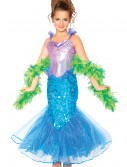 Girls Mermaid Costume, halloween costume (Girls Mermaid Costume)