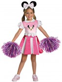 Girls Minnie Mouse Cheerleader Costume, halloween costume (Girls Minnie Mouse Cheerleader Costume)