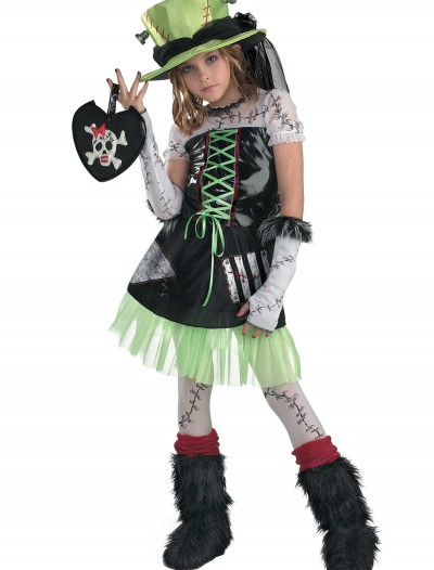 Girls Monster Bride Costume, halloween costume (Girls Monster Bride Costume)