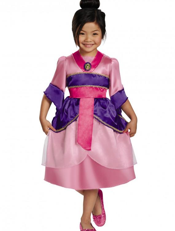 Girls Mulan Sparkle Classic Costume, halloween costume (Girls Mulan Sparkle Classic Costume)