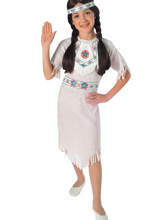 Girls Native American Princess Costume, halloween costume (Girls Native American Princess Costume)