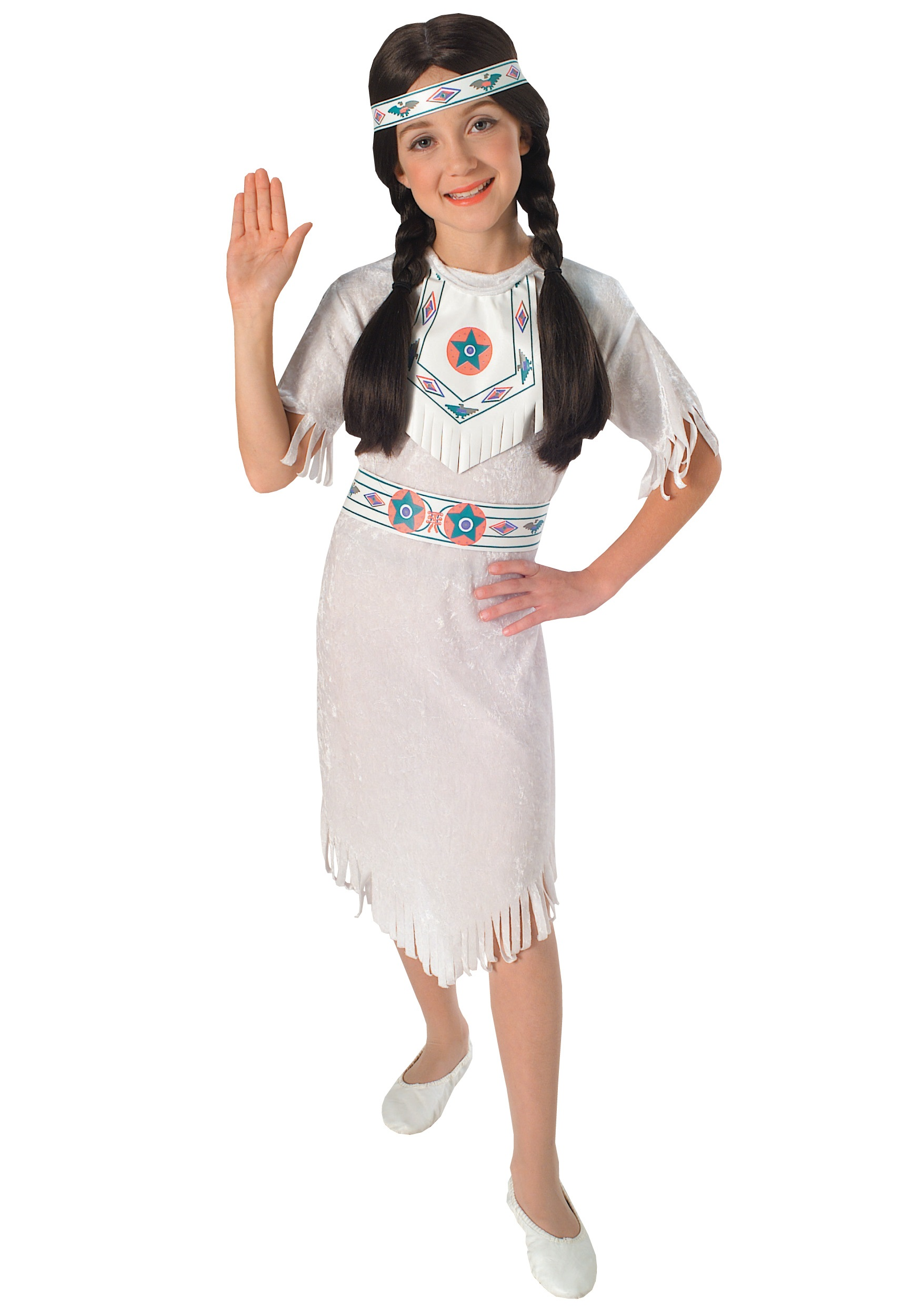 Girls Native American Princess Costume Halloween Costumes