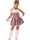 Girl's Pink Cat Costume, halloween costume (Girl's Pink Cat Costume)