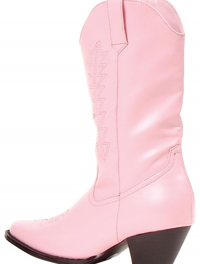 Girls Pink Cowgirl Boots, halloween costume (Girls Pink Cowgirl Boots)