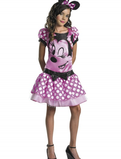 Girls Pink Minnie Mouse Costume, halloween costume (Girls Pink Minnie Mouse Costume)