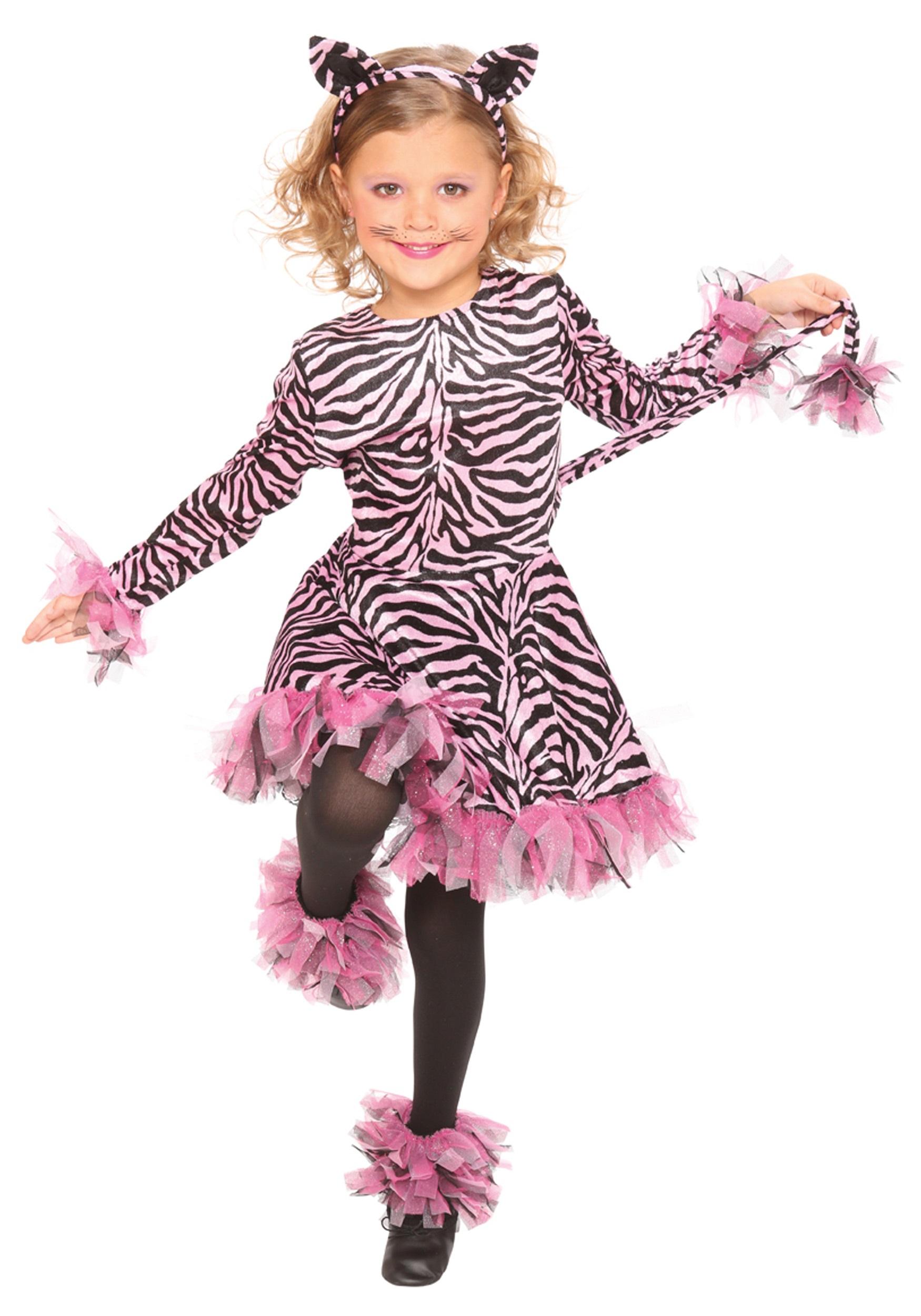 Girls Pink Tiger Costume  sc 1 st  Halloween Costumes & Girls Pink Tiger Costume - Halloween Costumes