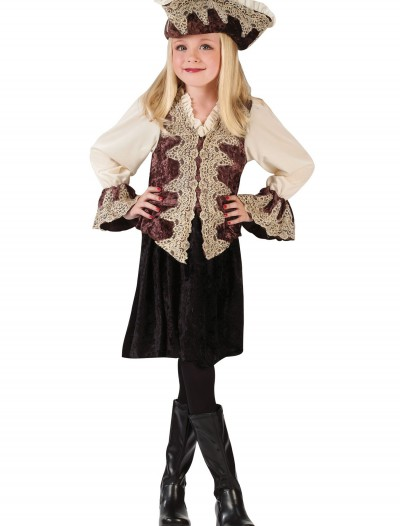 Girl's Pirate Costume, halloween costume (Girl's Pirate Costume)