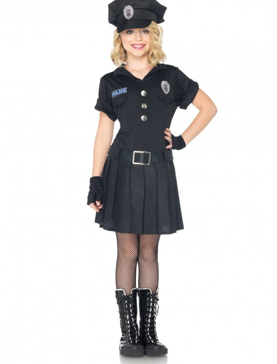 Girls Playtime Police Costume, halloween costume (Girls Playtime Police Costume)