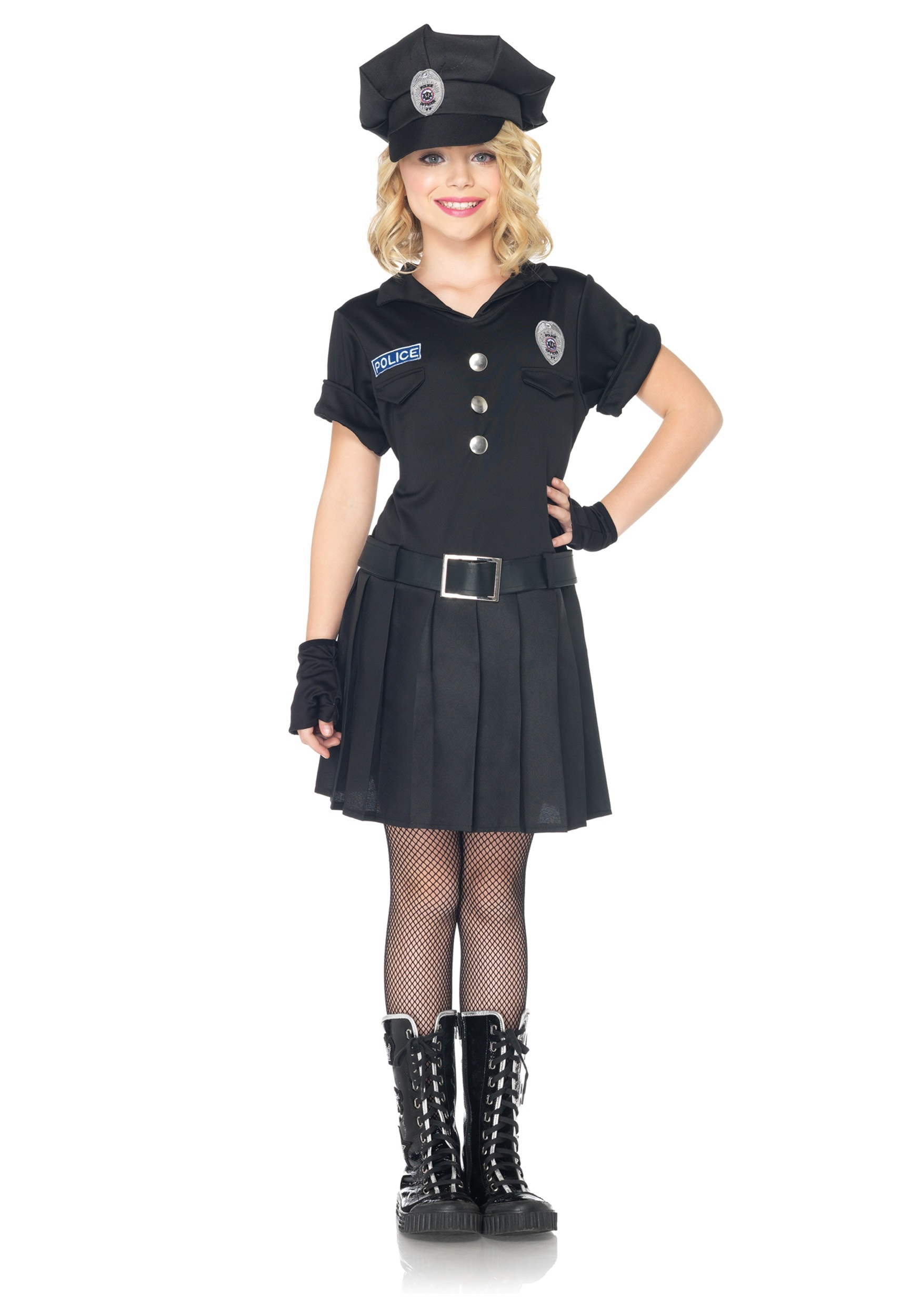 Girls Playtime Police Costume  sc 1 st  Halloween Costumes & Girls Playtime Police Costume - Halloween Costumes