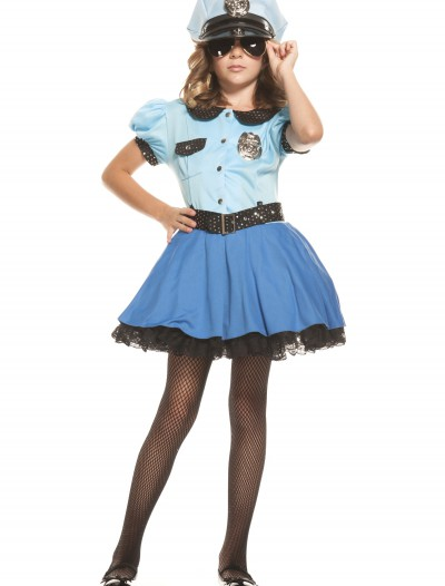 Girls Police Uniform Costume, halloween costume (Girls Police Uniform Costume)