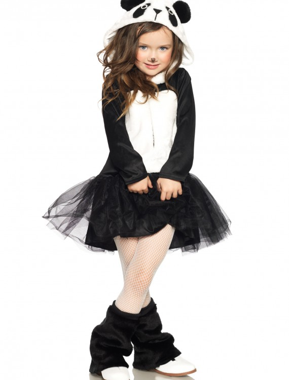 Girls Pretty Panda Costume, halloween costume (Girls Pretty Panda Costume)