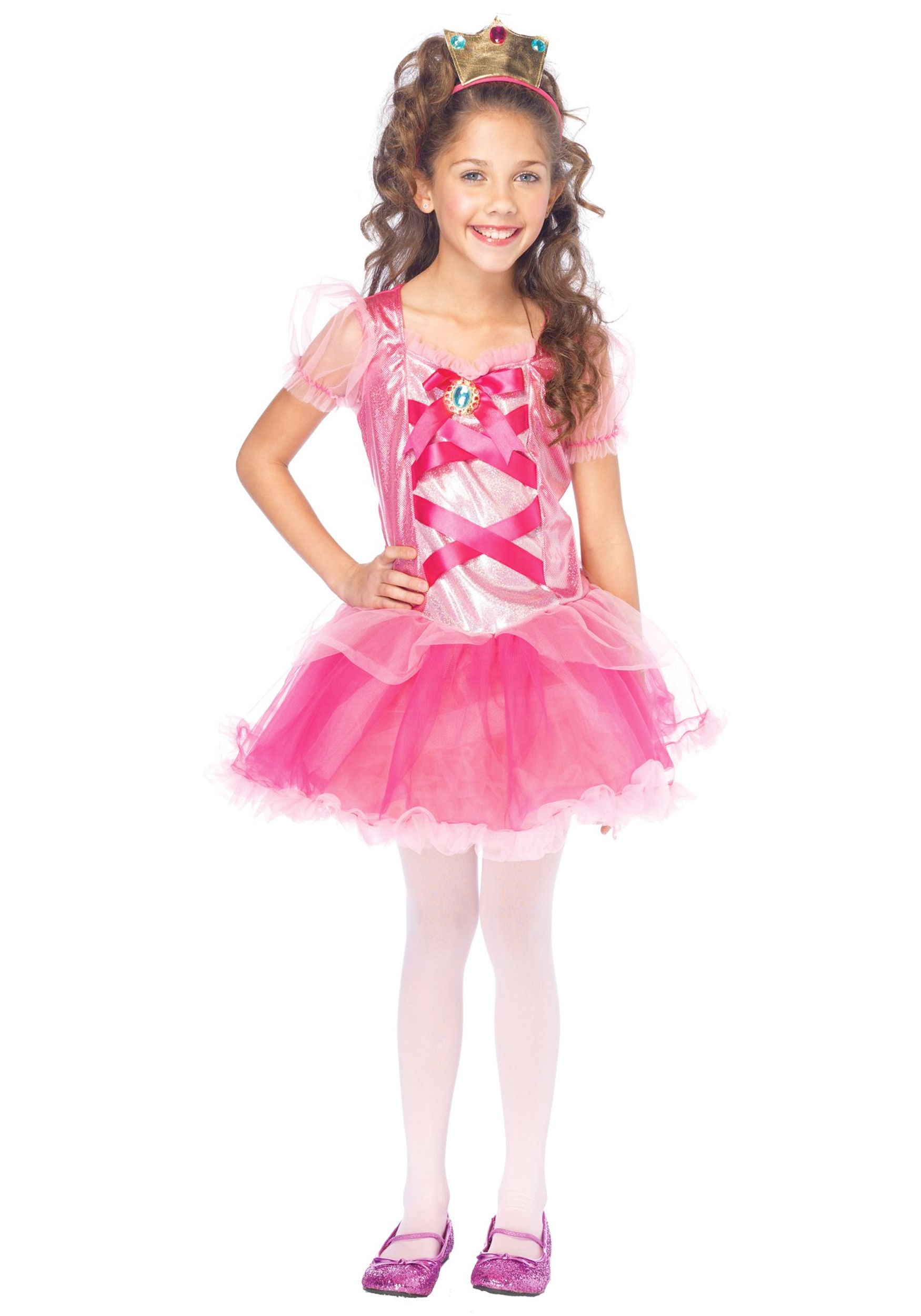 girls pretty princess costume - halloween costumes