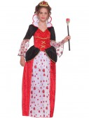 Girls Queen of Hearts Costume, halloween costume (Girls Queen of Hearts Costume)