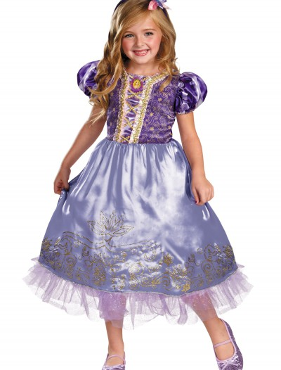 Girls Rapunzel Sparkle Deluxe Costume, halloween costume (Girls Rapunzel Sparkle Deluxe Costume)