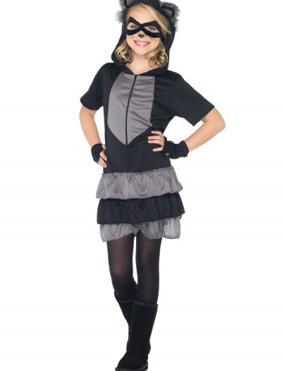 Girls Rascal Raccoon Costume, halloween costume (Girls Rascal Raccoon Costume)