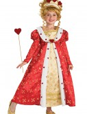 Girls Red Heart Princess Costume, halloween costume (Girls Red Heart Princess Costume)