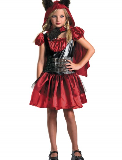 Girls Red Riding Rage Costume, halloween costume (Girls Red Riding Rage Costume)