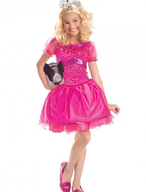 Girls Redneck Pageant Princess Costume, halloween costume (Girls Redneck Pageant Princess Costume)
