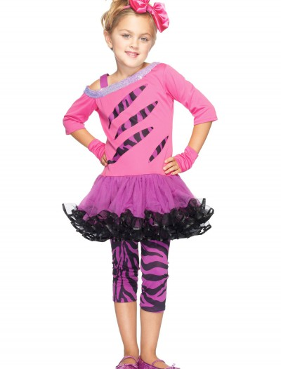 Girls Retro Rockstar Costume, halloween costume (Girls Retro Rockstar Costume)